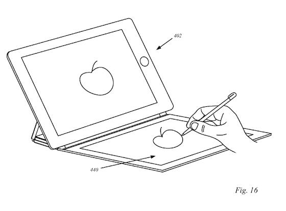 iPads smart covers patent tekenen