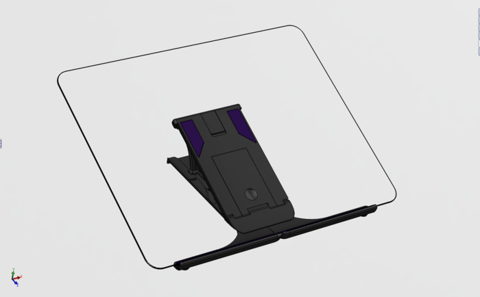 Plinth iPad 3D-model
