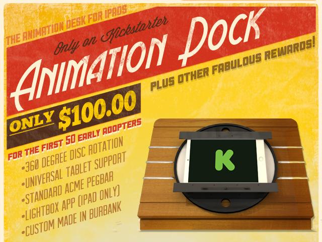 Animation Dock iPad