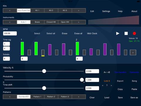 ICV DrumPerfect Nederlandse iPad app