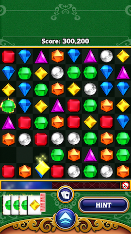 Bejeweled Poker mode combinatie