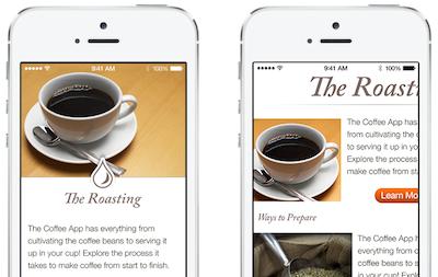 Apple designtips swipe UI