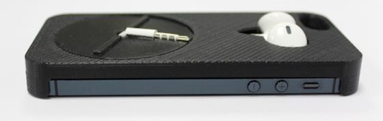 Mous iPhone case oordopjes opzij