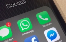 WhatsApp Telefoon spotlight