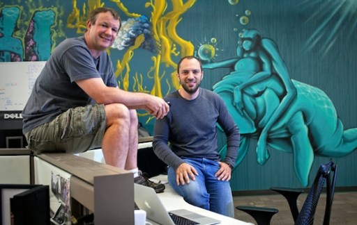 Brian Acton en Jan Koum