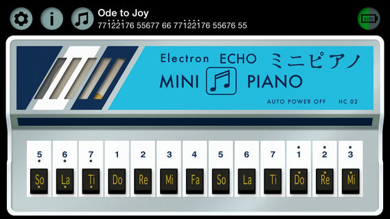 ICV Electron Echo mini piano