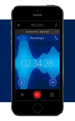 Acoustic Stream app