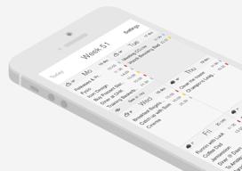CalCube Nederlandse agenda-app iPhone iPad