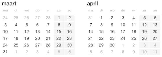 Maart April 2014