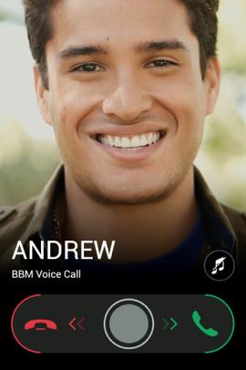 BBM Voice bellen iPhone