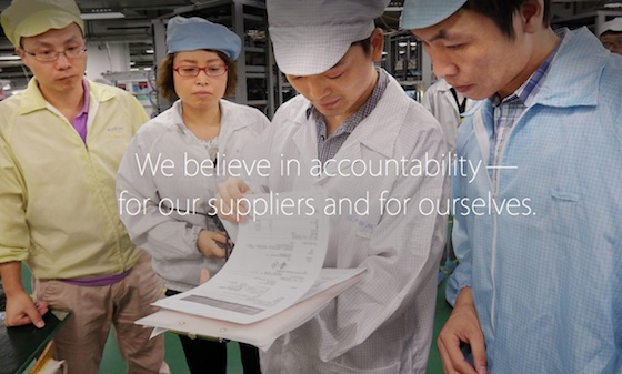 jaarrapport arbeidsomstandigheden apple