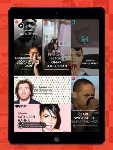 Shuffler.fm Pause Magazine