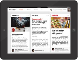 Blendle als app naar iPad en iPhone