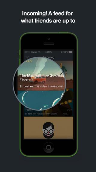 Incoming-feed toont video's van Facebook en Twitter in Vimeo