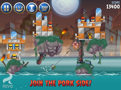 ICD Angry Birds Star Wars II iOS
