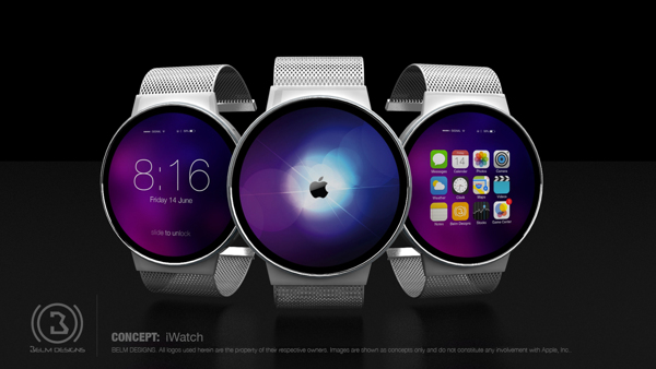iWatch-concept Mark Bell