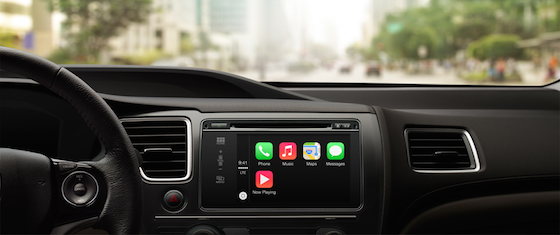 CarPlay header
