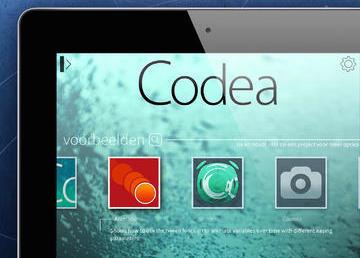 Programmeer app codea krijgt nieuw design en slimme bewerker for Badkamer ontwerpen app ipad
