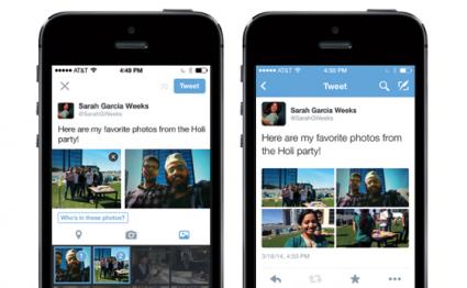 Twitter foto's taggen iPhone