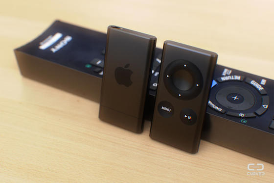 Apple TV Air concept Curved 3