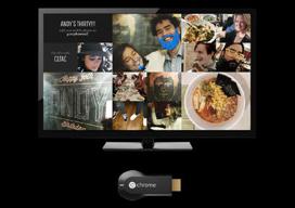 Photowall for Chromecast iOS