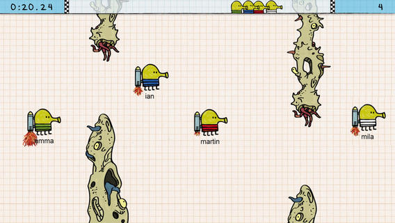 Doodle Jump Race iPhone