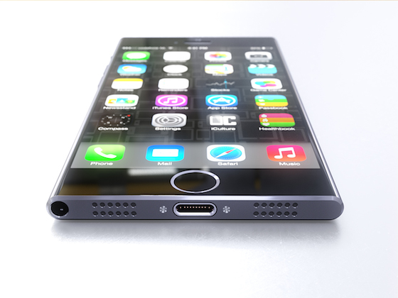 Concept iCulture iPhone 6 onderkant