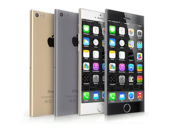 iPhone 6 concept iCulture kleuren