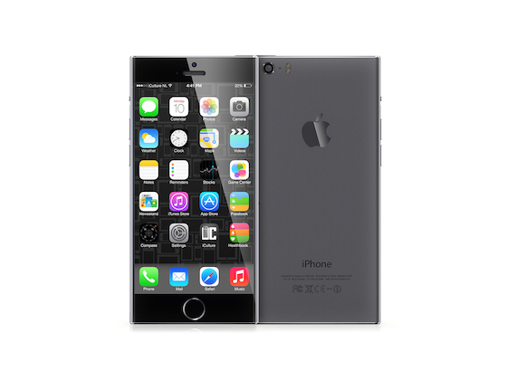 iPhone 6 concept iCulture grijs promo