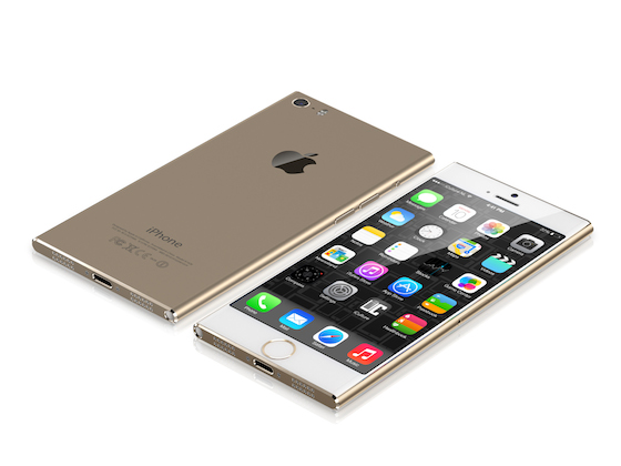 Concept iPhone 6 iCulture goud
