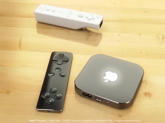 Apple TV game controller Martin Hajek 1