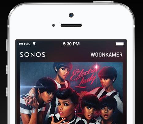 Sonos app teaser
