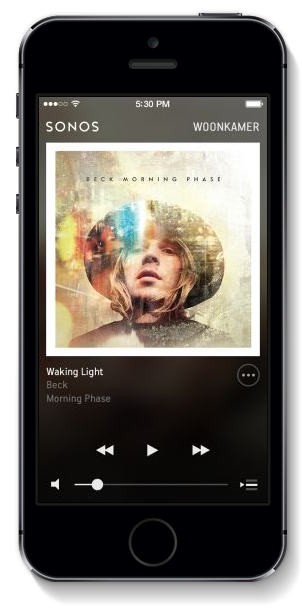 Sonos iOS 7 design