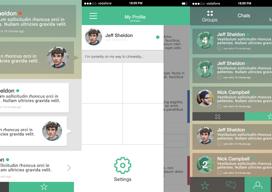 WhatsApp design concept iPhone