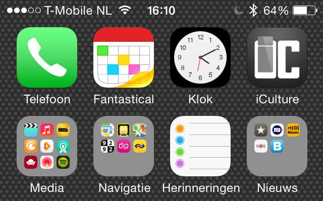 iOS 7.1 herinneringen icoon