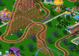 Rollercoaster Tycoon 4 Mobile iPhone iPad