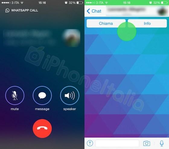 WhatsApp bellen screenshots