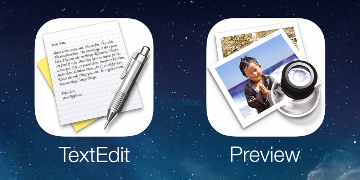 TextEdit Preview iOS 8