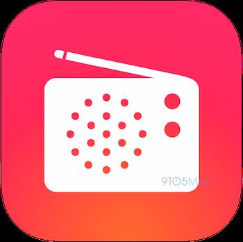 iTunes Radio iOS 8 icon