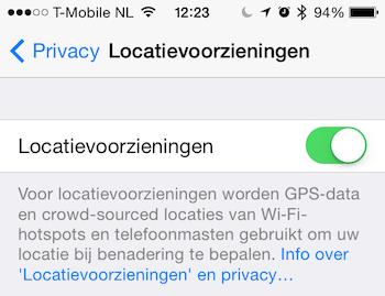 Locatievoorzieningen iOS 71 teaser