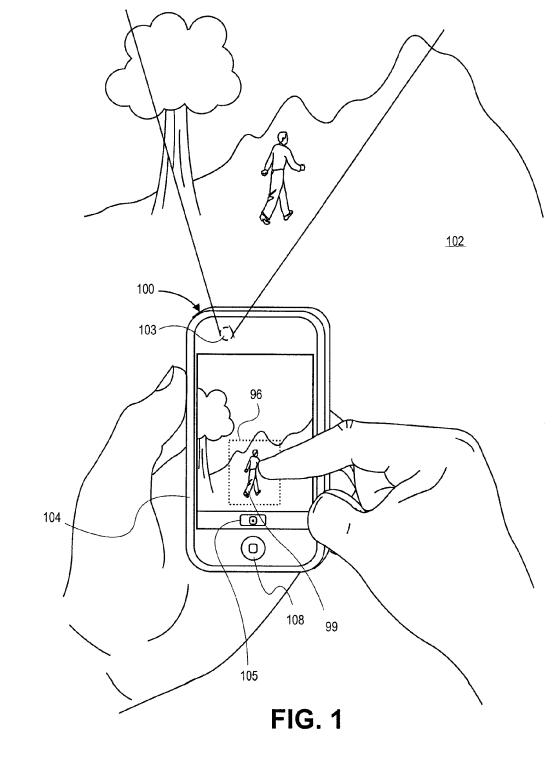 Patent op camerafuncties