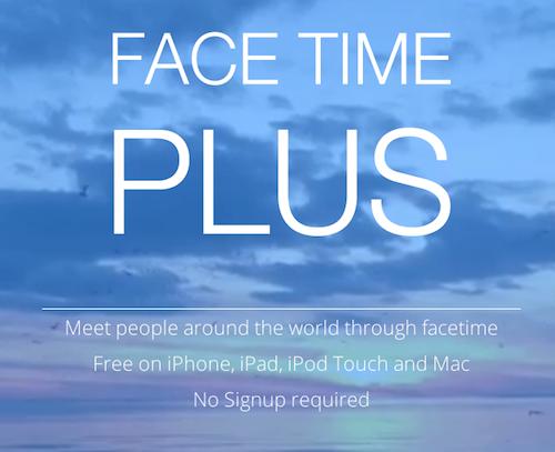 FaceTime Plus