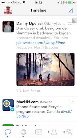 Tweetbot met nieuw lettertype en grote afbeeldingen