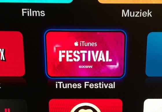 Apple TV SXSW iTunes Festival icoon