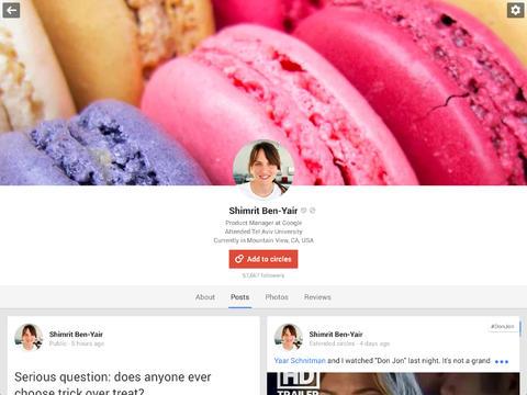 Google Plus ICV