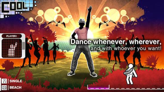 Dansen in SEGA Go Dance