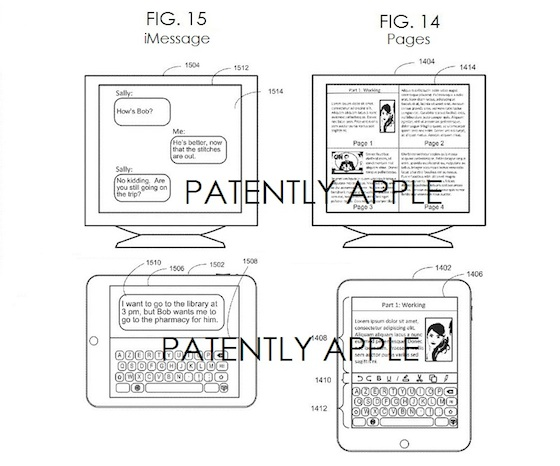 AirPlay Apple TV interactief patent