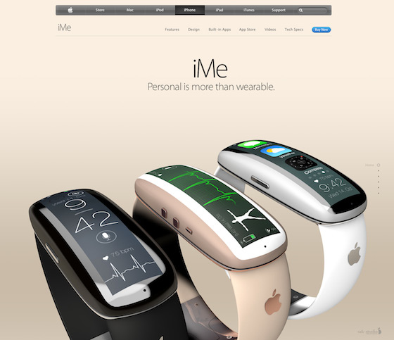 iMe iWatch concept 1