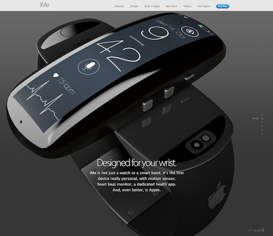 iMe iWatch concept 2
