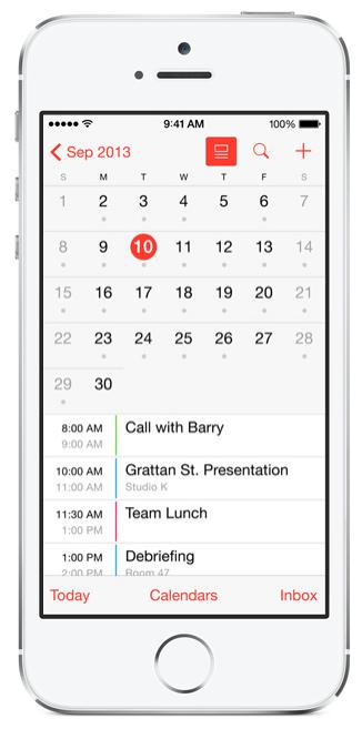 iOS 7.1 agenda